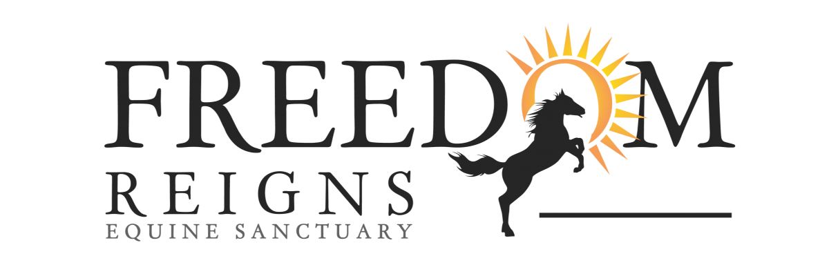 freedom reigns equine sanctuary logo